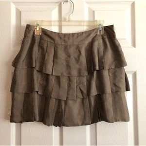 Banana Republic Layered Pleated Skirt